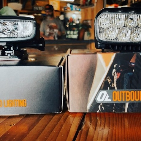 New @outboundlighting in stock just in time for night riding season!   #thehubpisgah #pisgahnationalforest #pisgahtavern #nightride