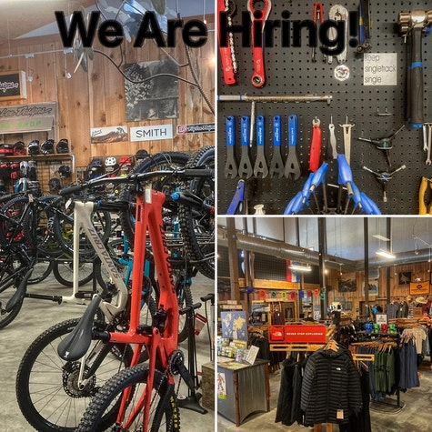 We are hiring for positions in bike sales, retail and service. If you are interested send a resume to nathan@hubbicycles.com.