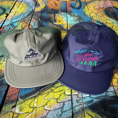 Fresh hats comin' in hottttt 🔥 These meshies are perfect for summer adventuring  Get 'em in store now!  #pisgahnationalforest #pnf #thepisgah #thehubpisgah #pisgahtavern