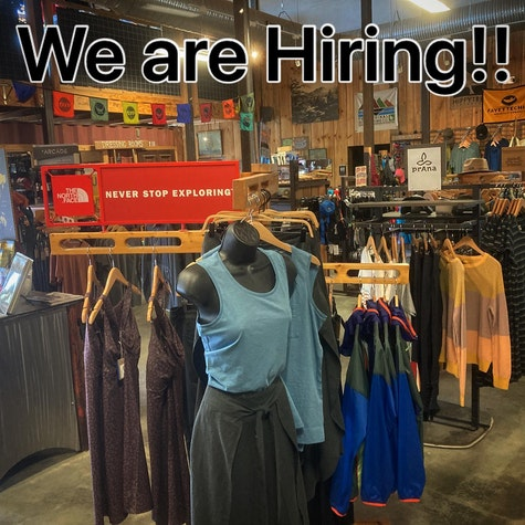 We are hiring for our retail Team!! If you have a few years experience as a retail purchasing manager in the outdoor industry give us a shout. Resumes can be sent to nathan@hubbicycles.com.